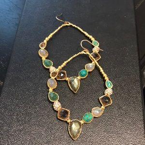 Jewelry - Gorgeous long Bali earrings Indian jewelry polki